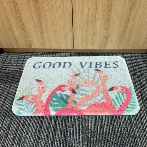 Thảm nhựa thông minh Good Vibes