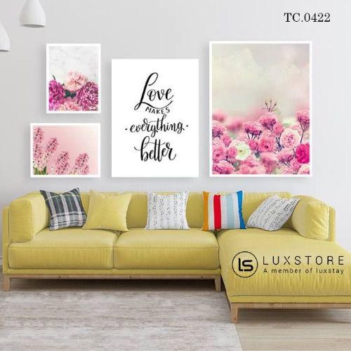 Tranh hoa hồng nghệ thuật TC.0422