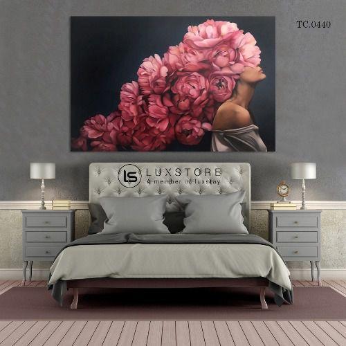 Tranh hoa hồng nghệ thuật TC.0440