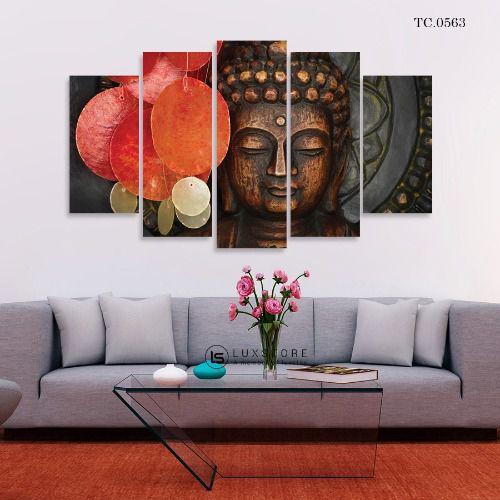 Bộ 5 Tranh Ghép Đức Phật TC.0563
