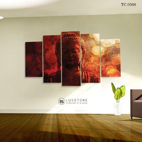 Bộ 5 Tranh Ghép Đức Phật TC.0568