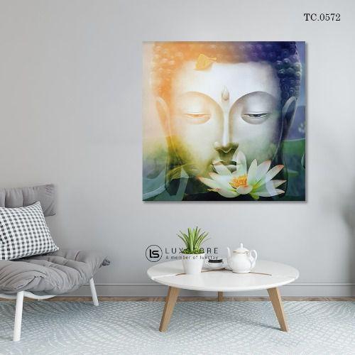Tranh Phật Cùng Sen TC.0572