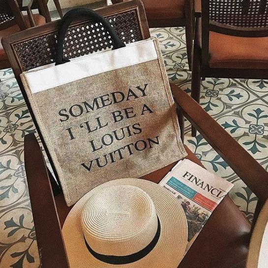 Túi vải đay Someday