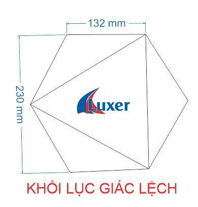 Khối lục giác lệch Luxer