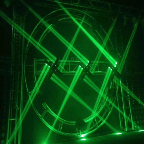Đèn moving 8 mắt đảo xoay