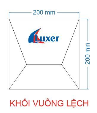 Khối vuông lệch Luxer