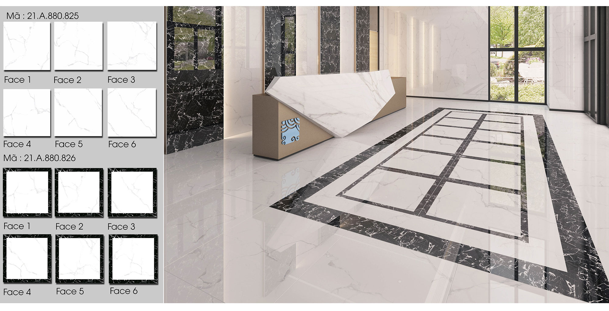 RETURNING OF CALACATTA STONE WITH NEW VITALITY IN CALACATTA CLASSIC COLLECTION