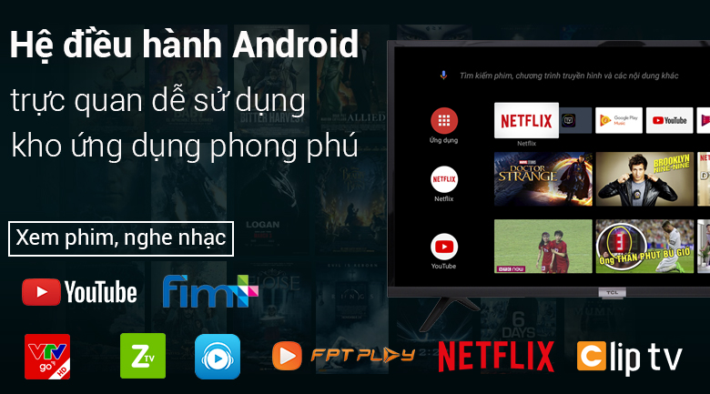 Android TV TCL 32S6500 32 inch