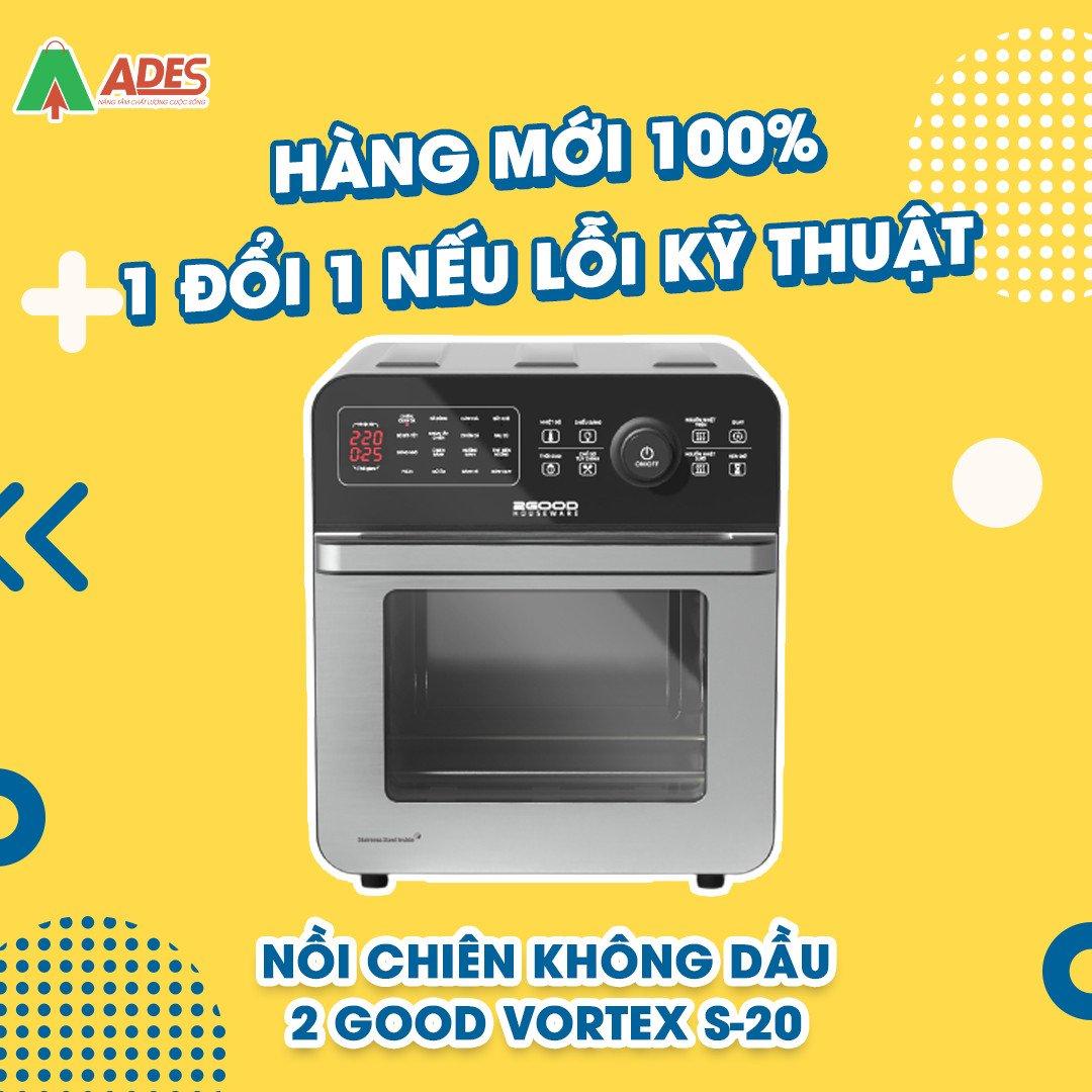 Noi Chien Khong Dau 2Good Vortex S20 chat luong chinh hang