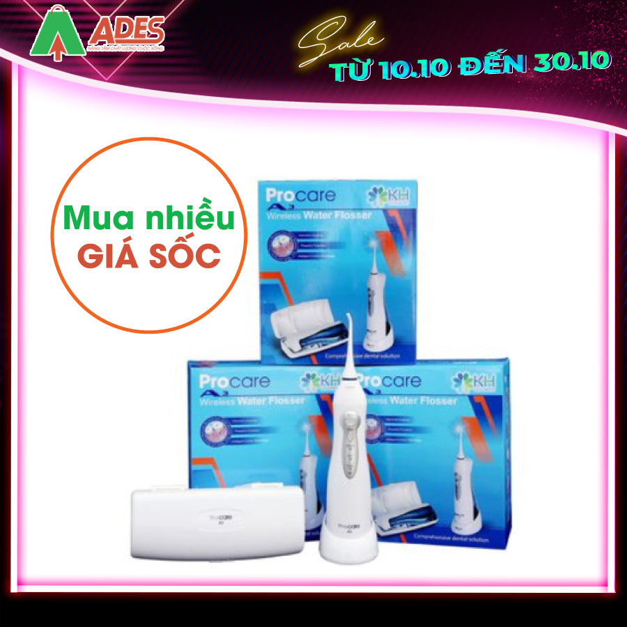 May tam nuoc Procare A3
