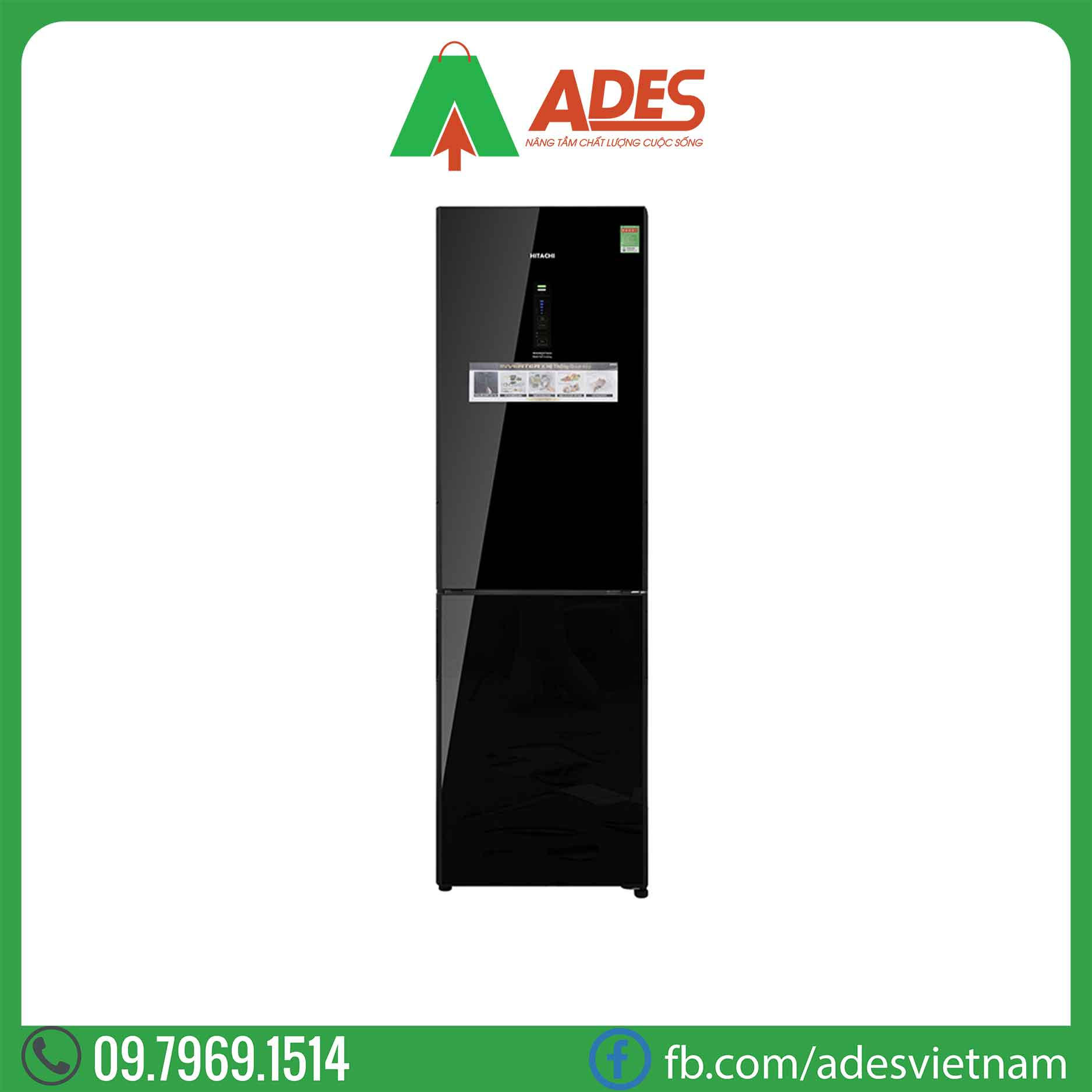 Tu lanh Hitachi Inverter R-BG410PGV6X GBK