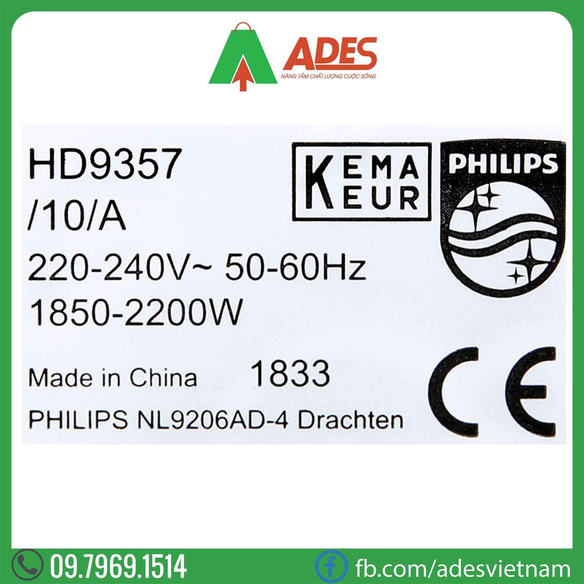 Am dun sieu toc Philips HD9357/10