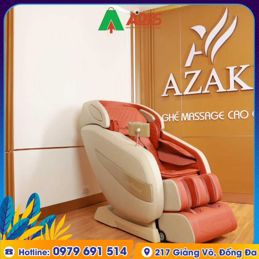 Ghe Massage Azaki Maxxspeed ES30 chinh hang