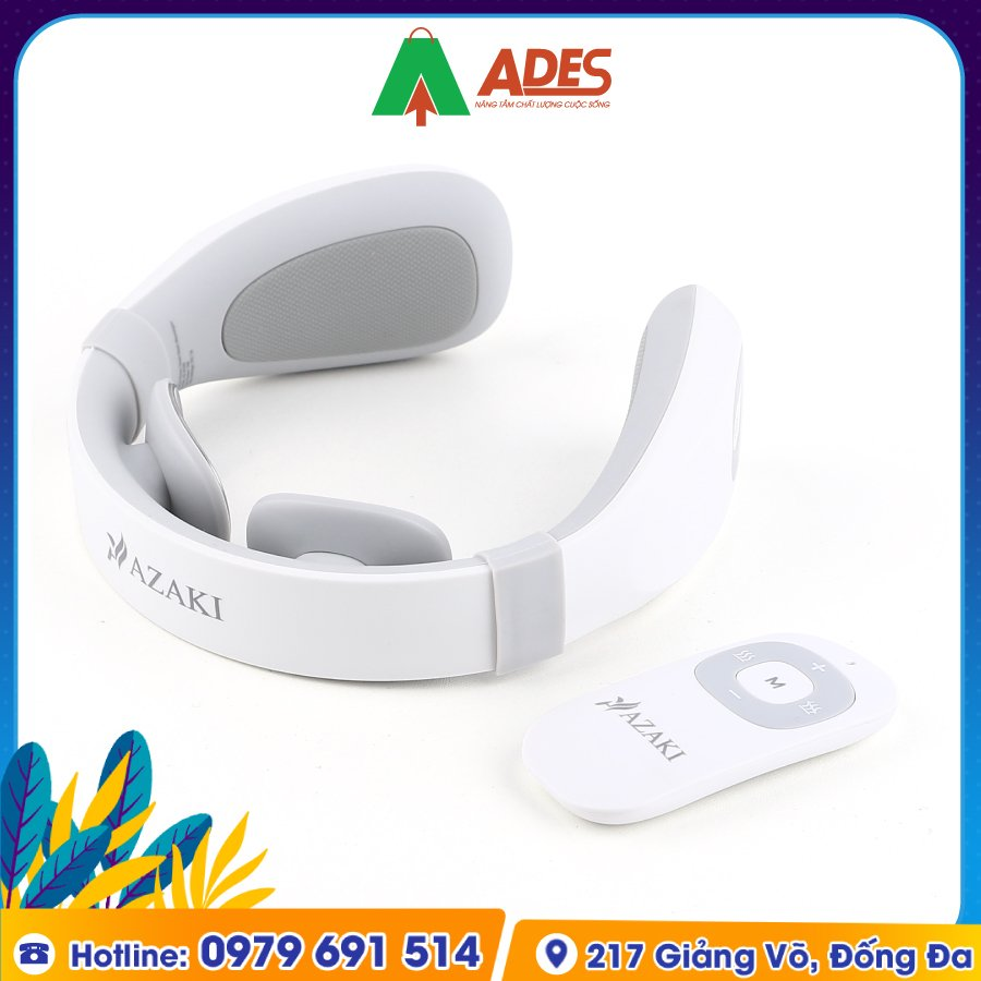 May Massage Co Azaki AZ N109 Plus chinh hang
