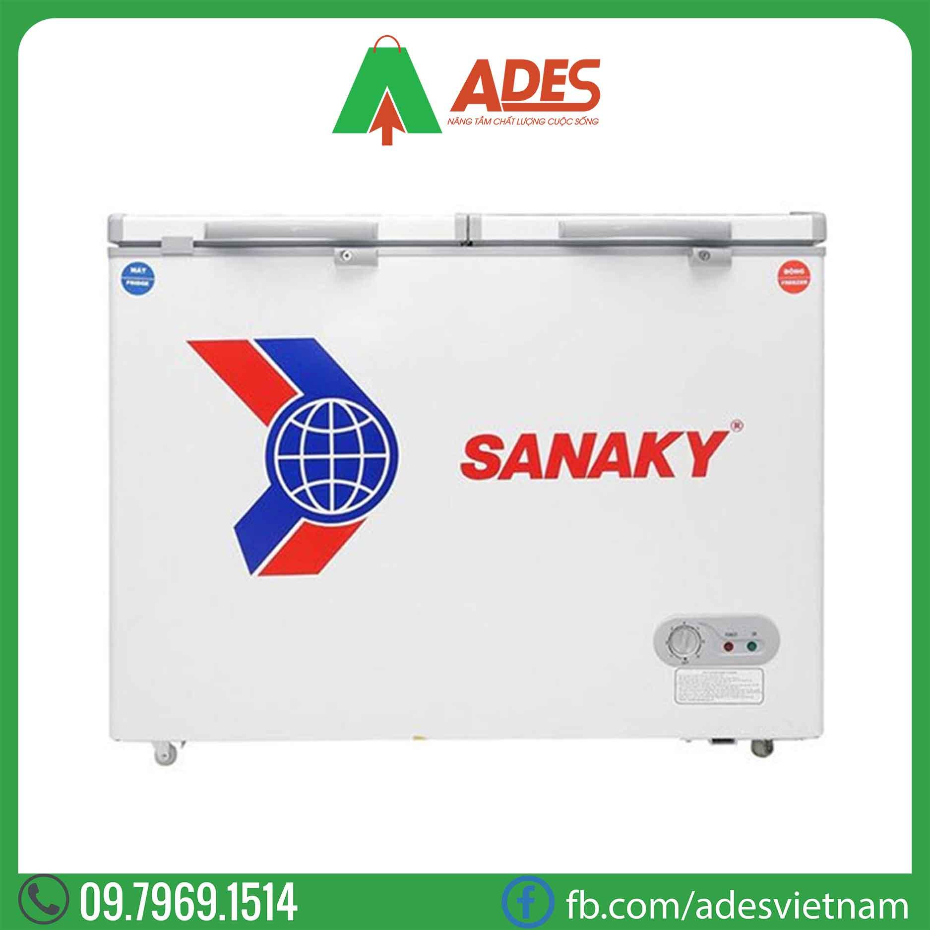 Tu dong Sanaky VH-255W2 195 Lít