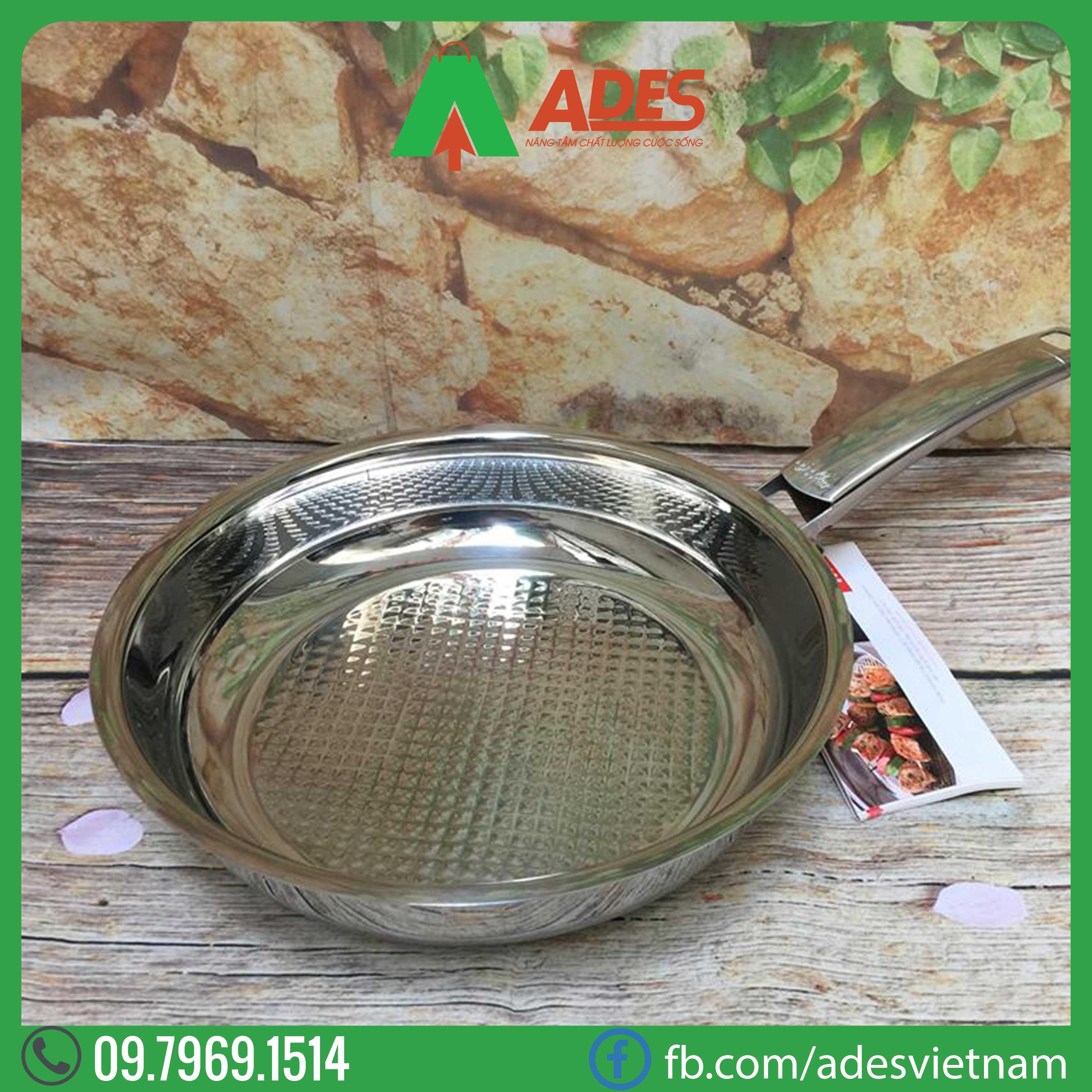 Chao Inox Fissler Steelux  28cm 121-101-28-100 Dien may ADES