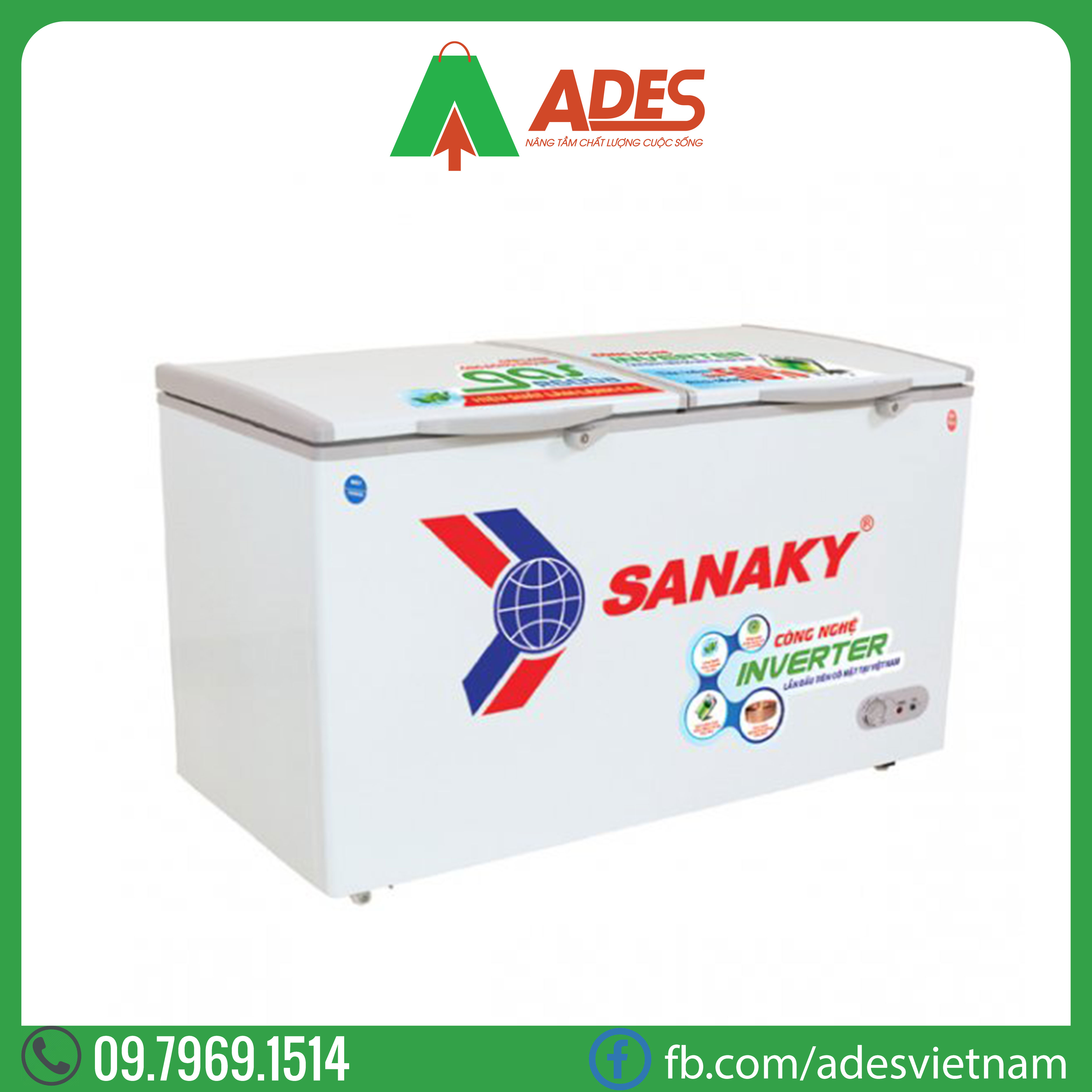 Tu dong Sanaky VH-3699W3 Inverter