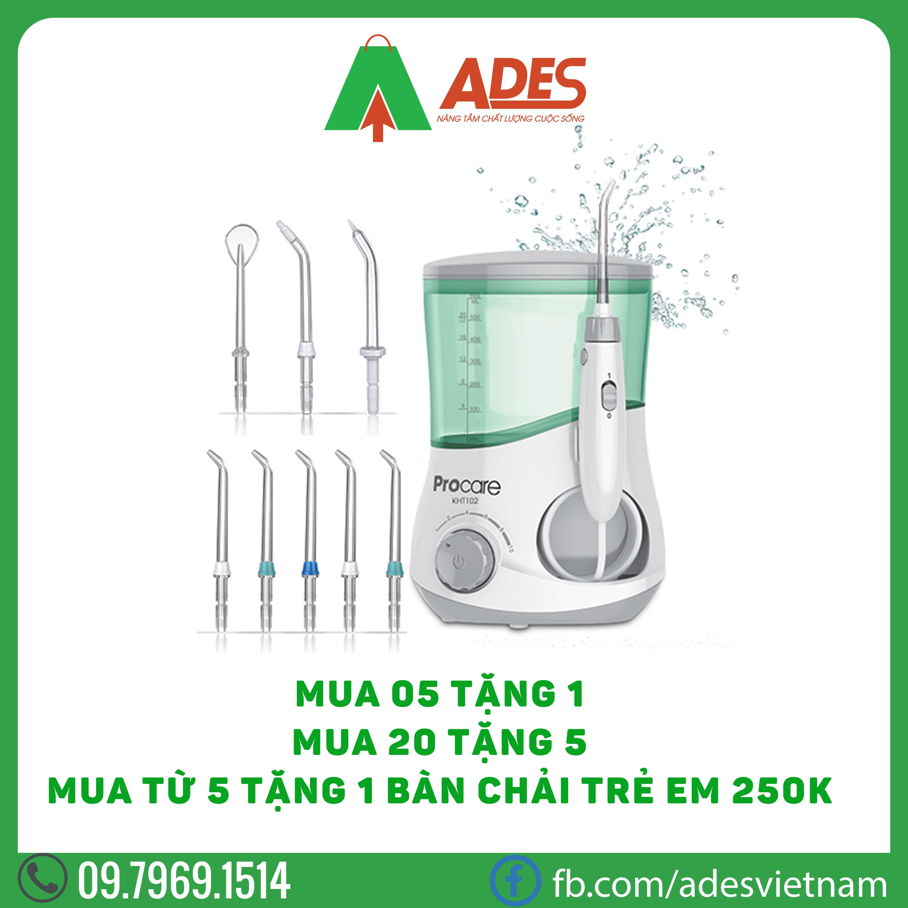 May tam nuoc Procare KHT102