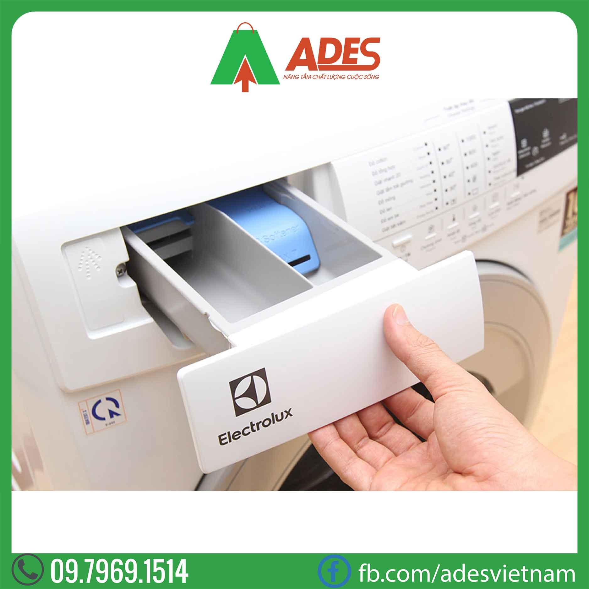 May giat Electrolux Inverter 7.5 Kg EWF10744