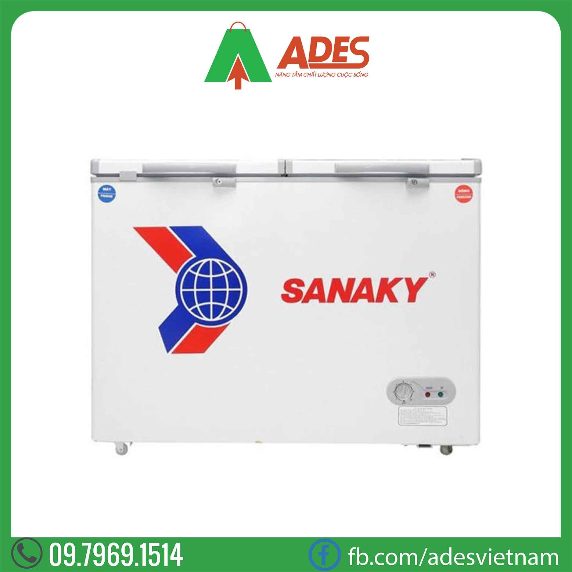 Tu dong Sanaky VH-225W2 165 Lít