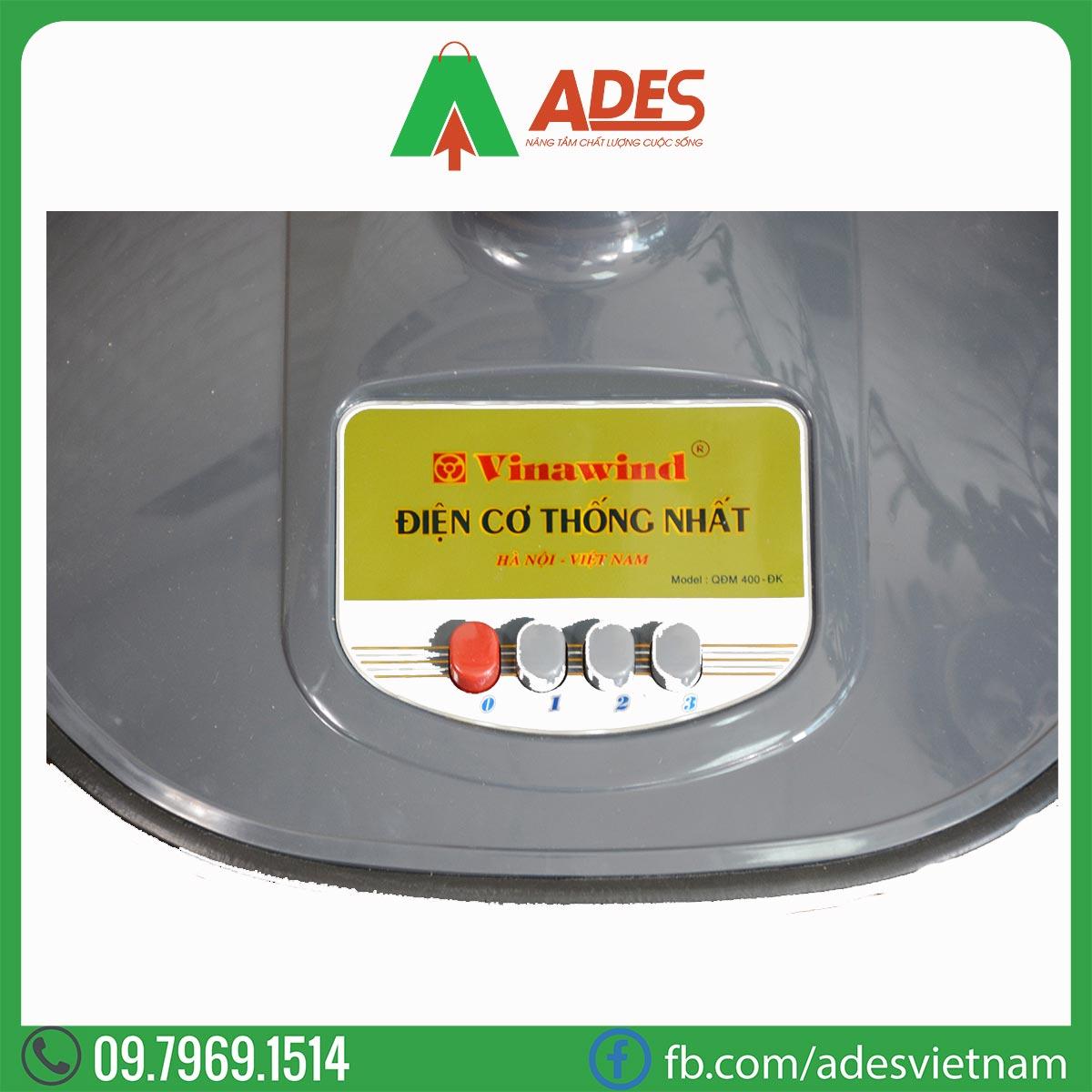 Quat dung mini Vinawind QDM 400 DK Dien may ADES