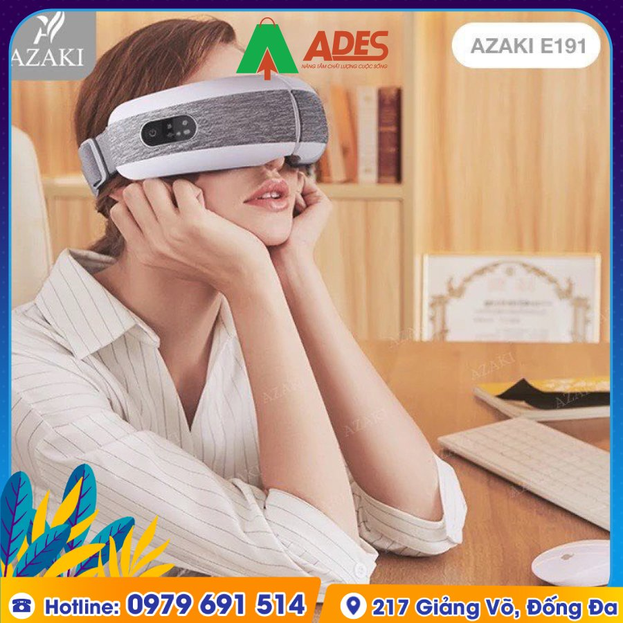 May Massage Azaki 4D AZ-E191 Plus sang trong