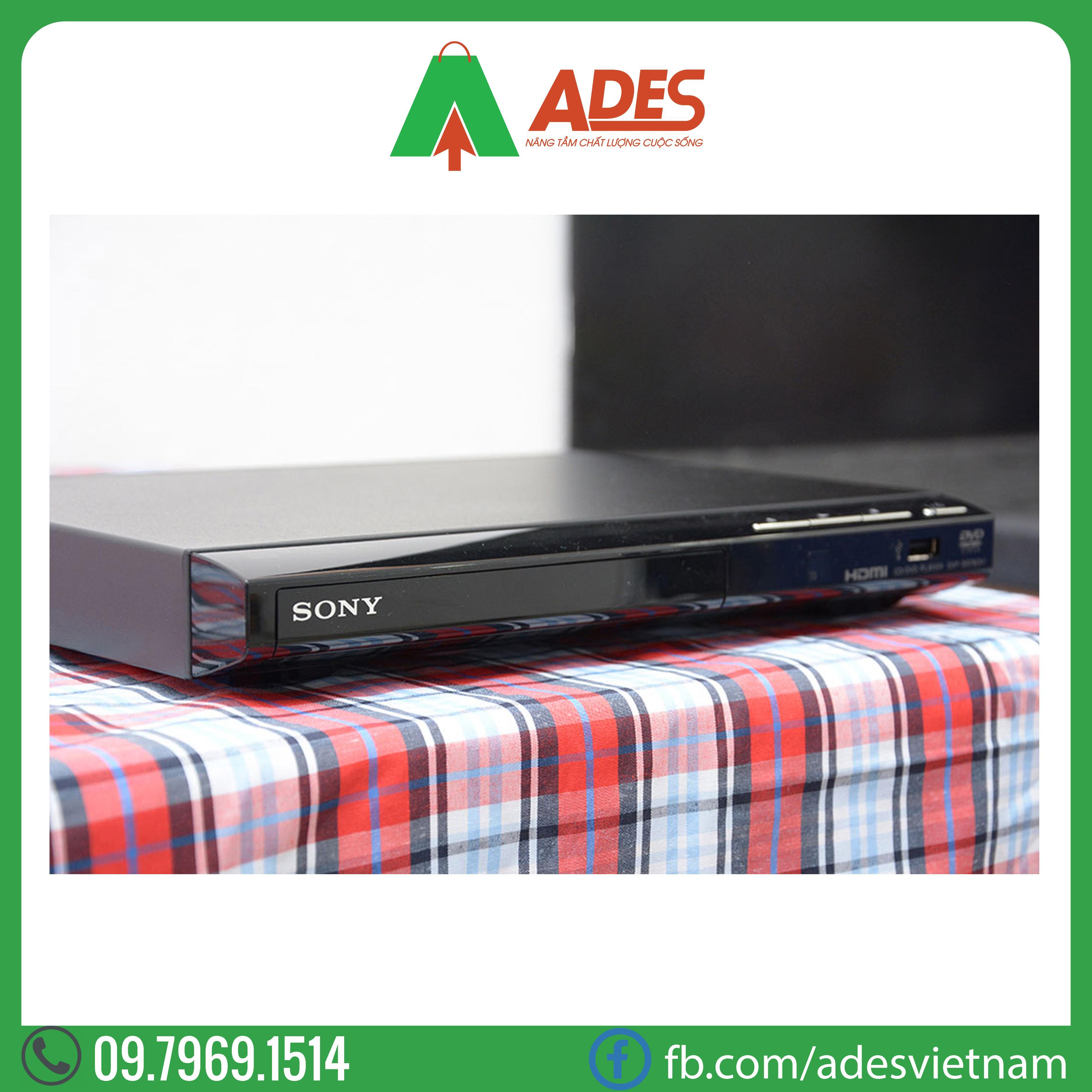 dau dia DVD Sony DVP-SR760