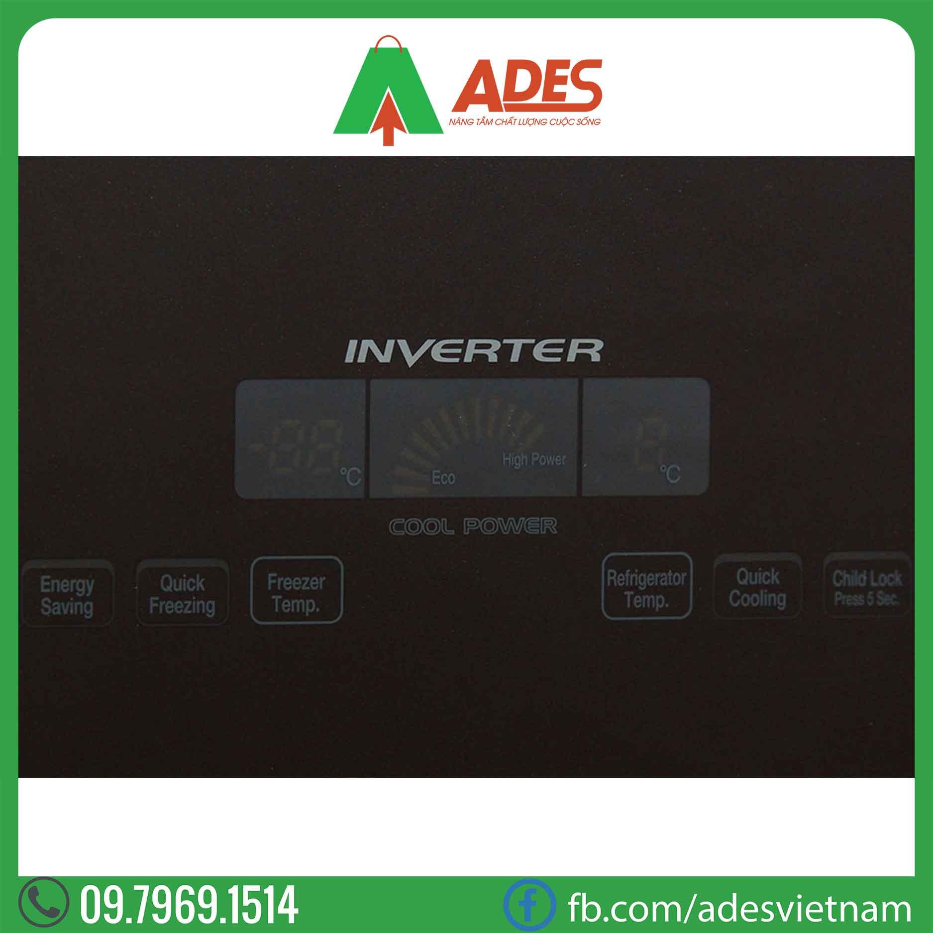 Tu lanh Hitachi Inverter R-WB475PGV2 GBW
