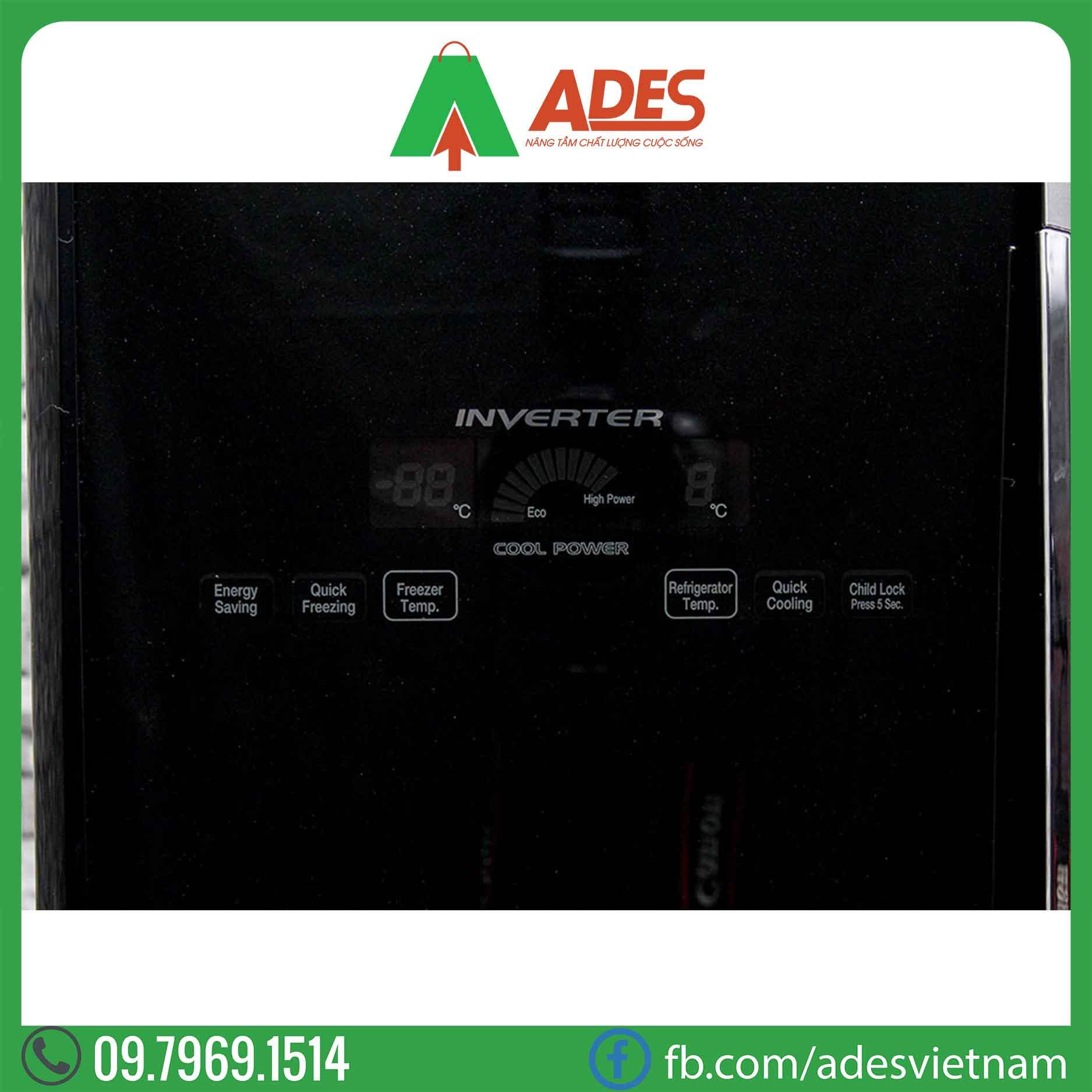 Tu lanh Hitachi Inverter R-WB475PGV2GBK