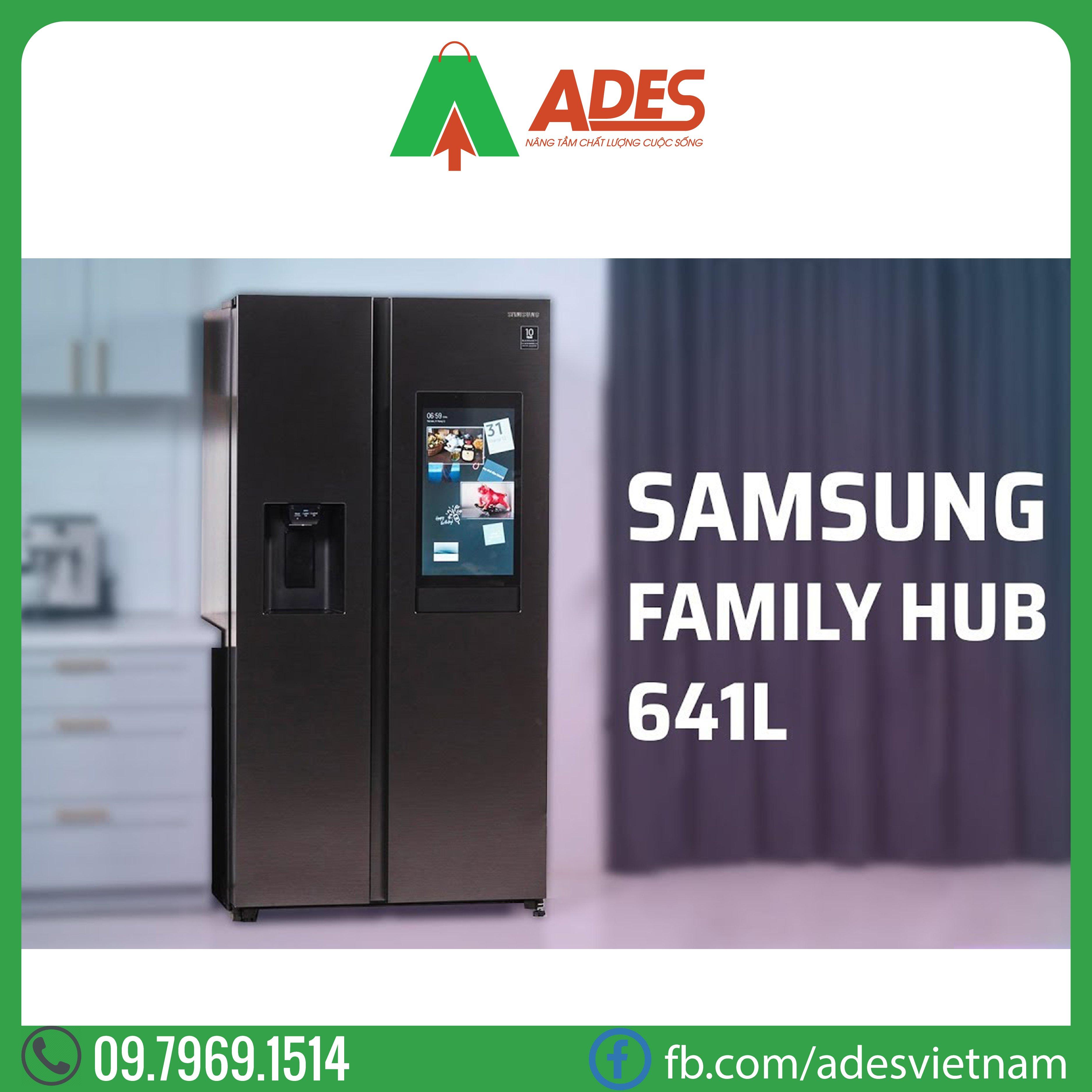 Tu lanh Samsung Family Hub 641L