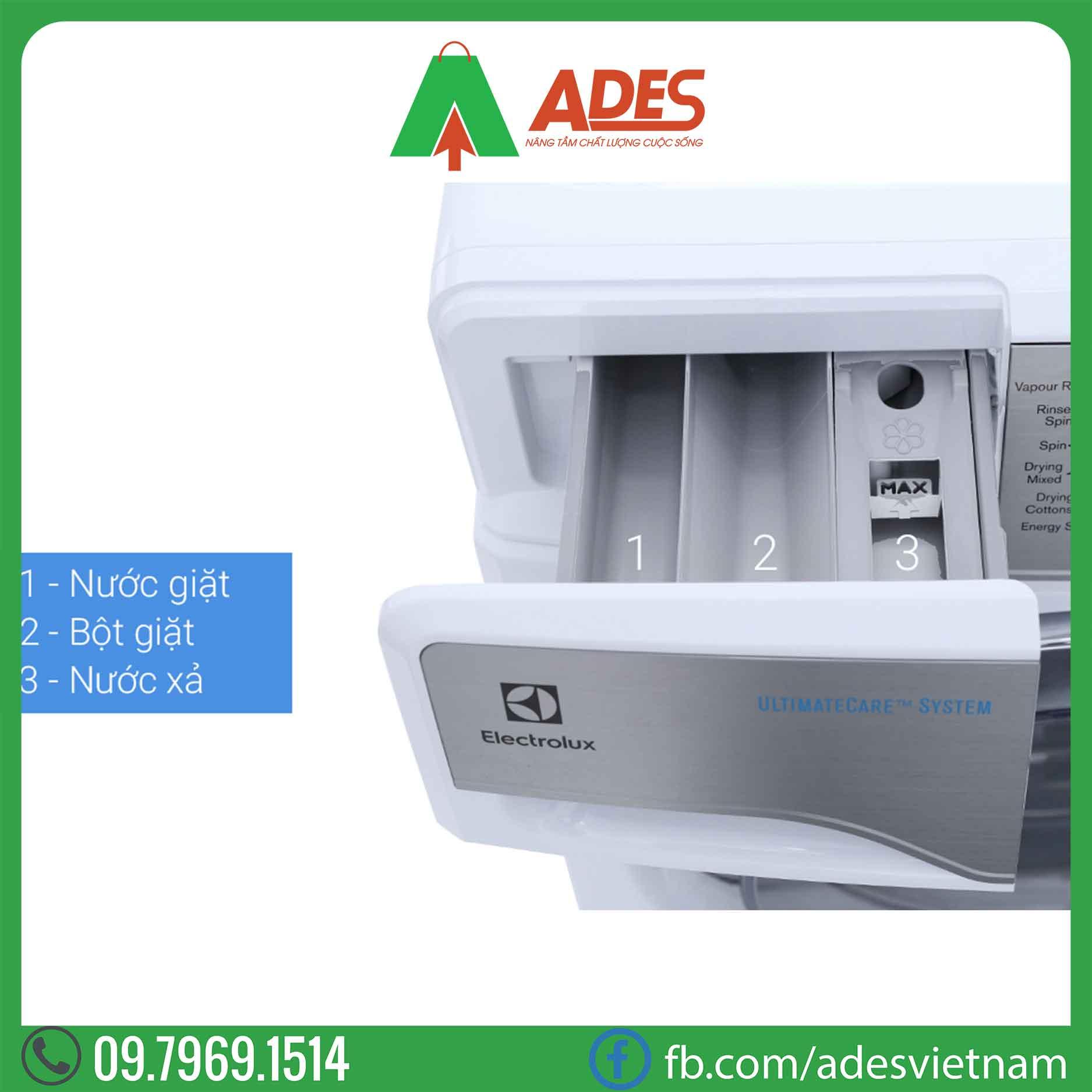 May giat say Electrolux Inverter 10 Kg EWW14023