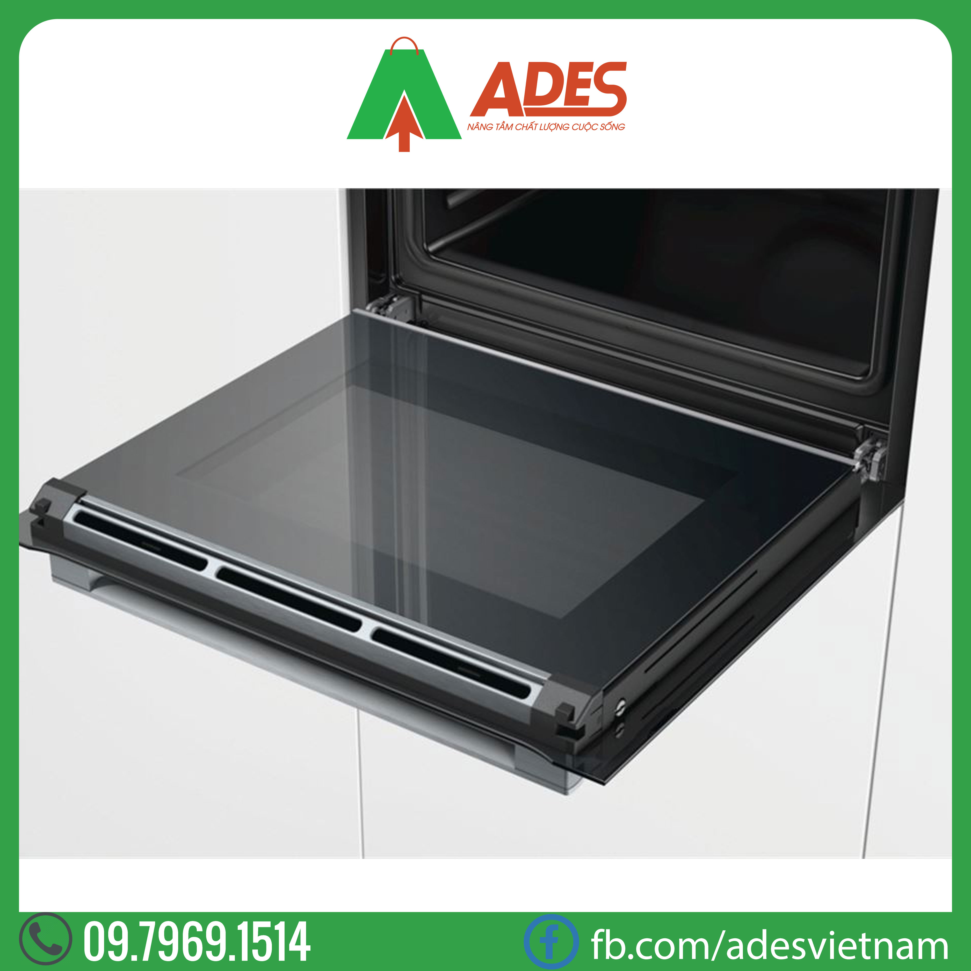 Lo nuong Bosch 3650W HBG675BB1