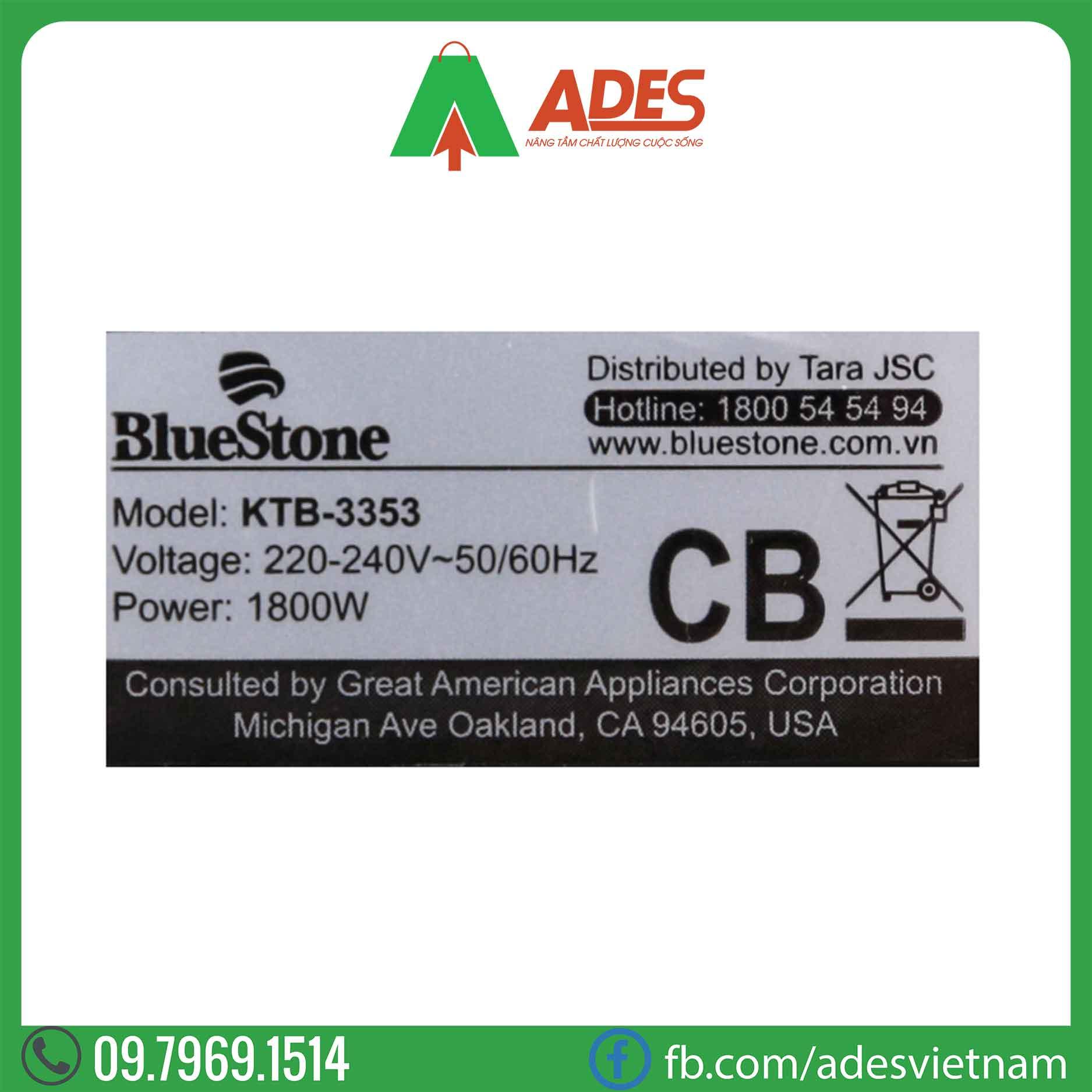 Am sieu toc Bluestone KTB-3353