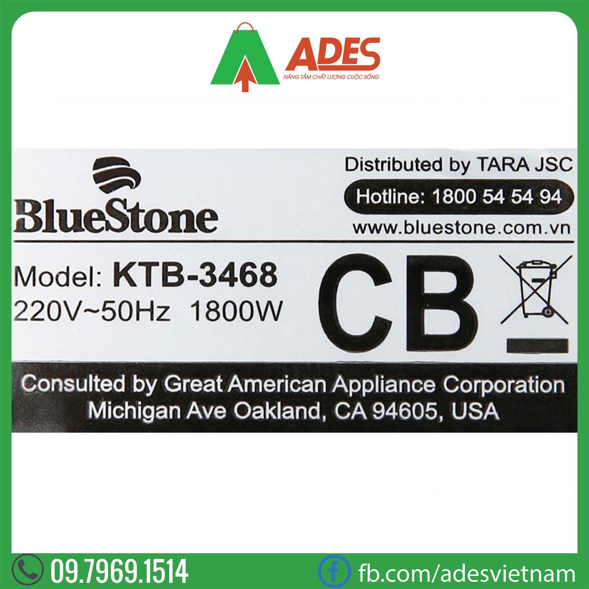 Am sieu toc Bluestone KTB-3468