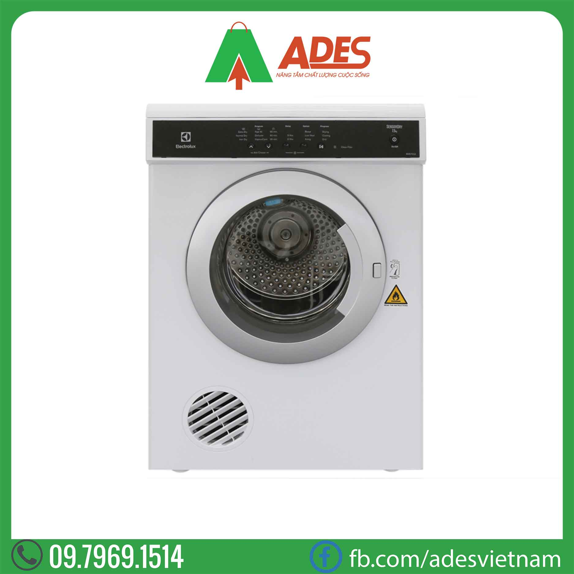 may say quan ao Electrolux EDS7552
