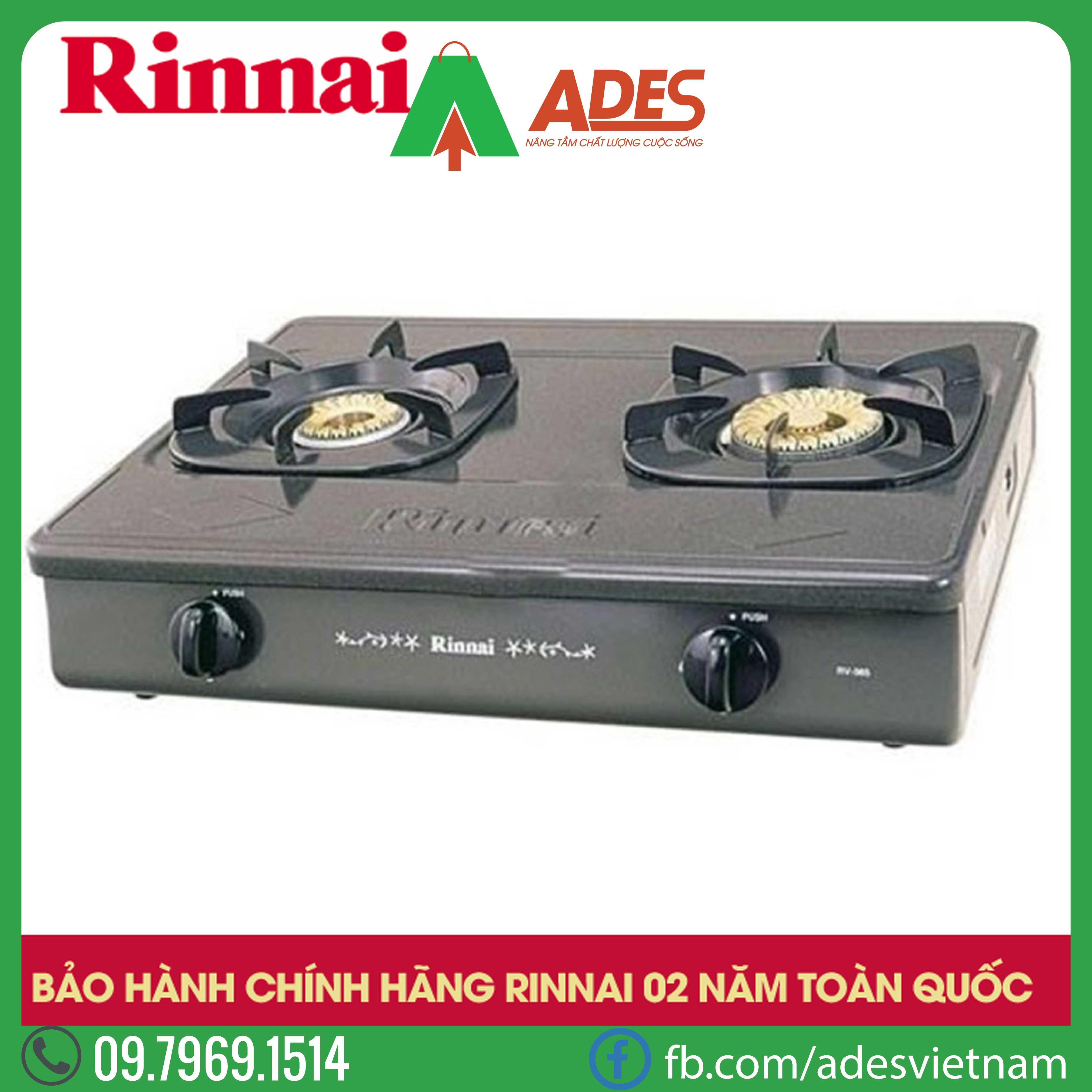 bep gas duong Rinnai RV-365(G)N