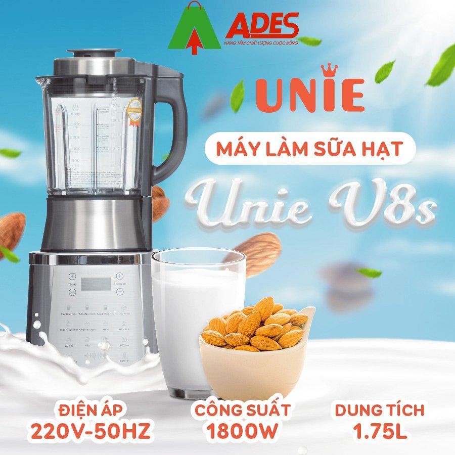 may lam sua hat unie v8s