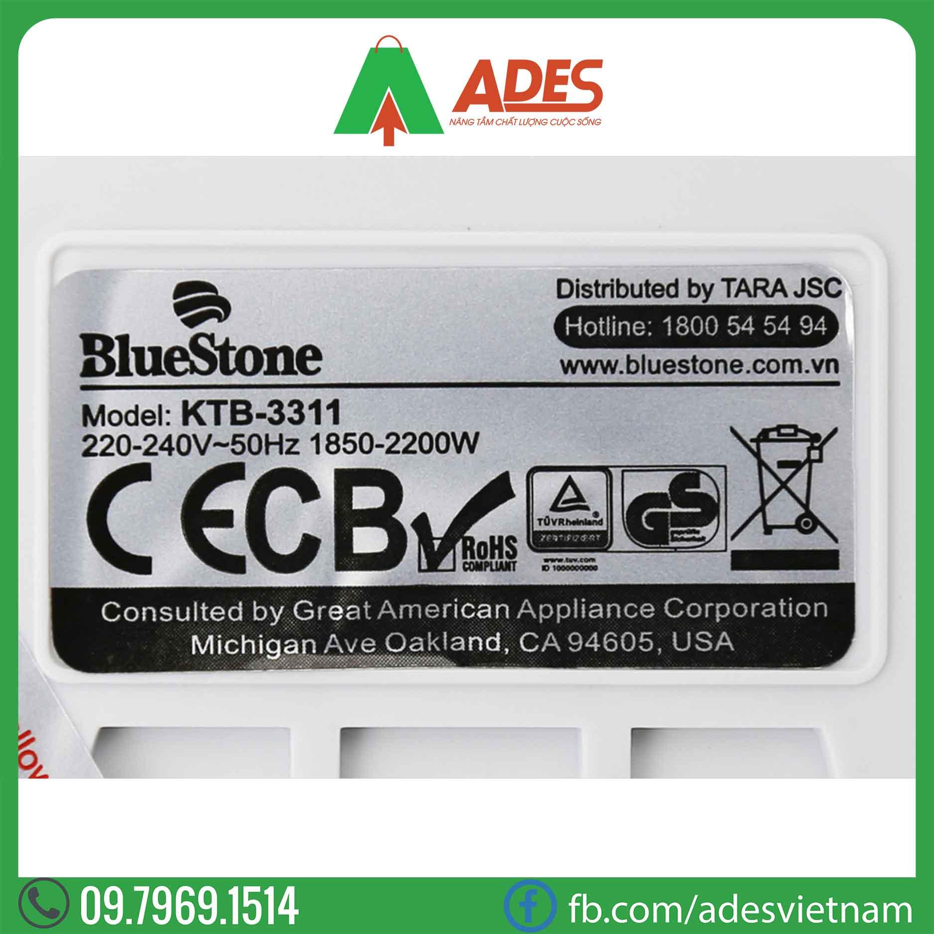 Am sieu toc Bluestone KTB-3311