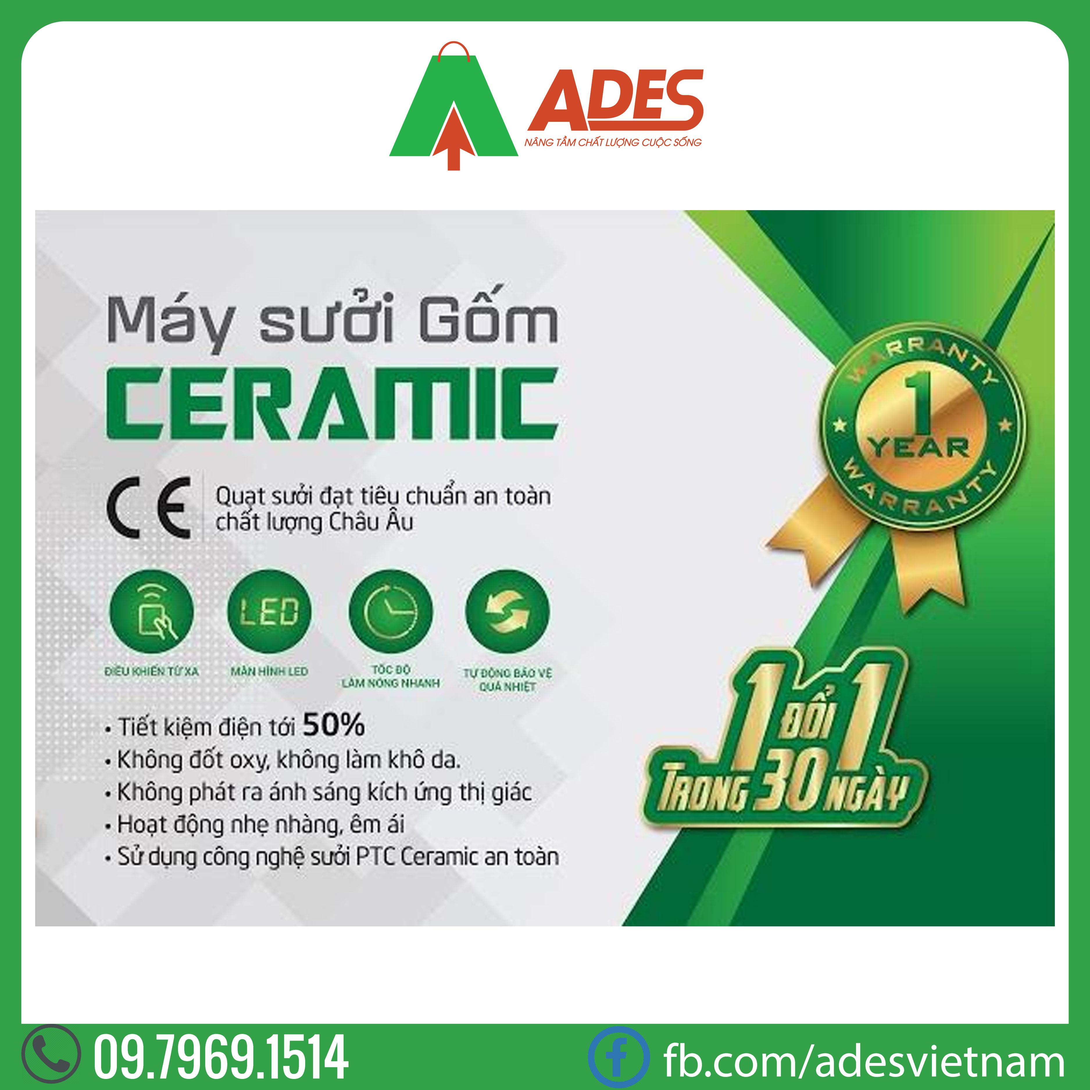 Quat suoi gom Ceramic Erito HCB12RM