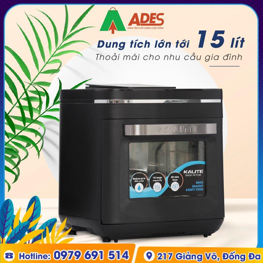 Noi Chien Khong Dau Kalite Steam X chinh hang