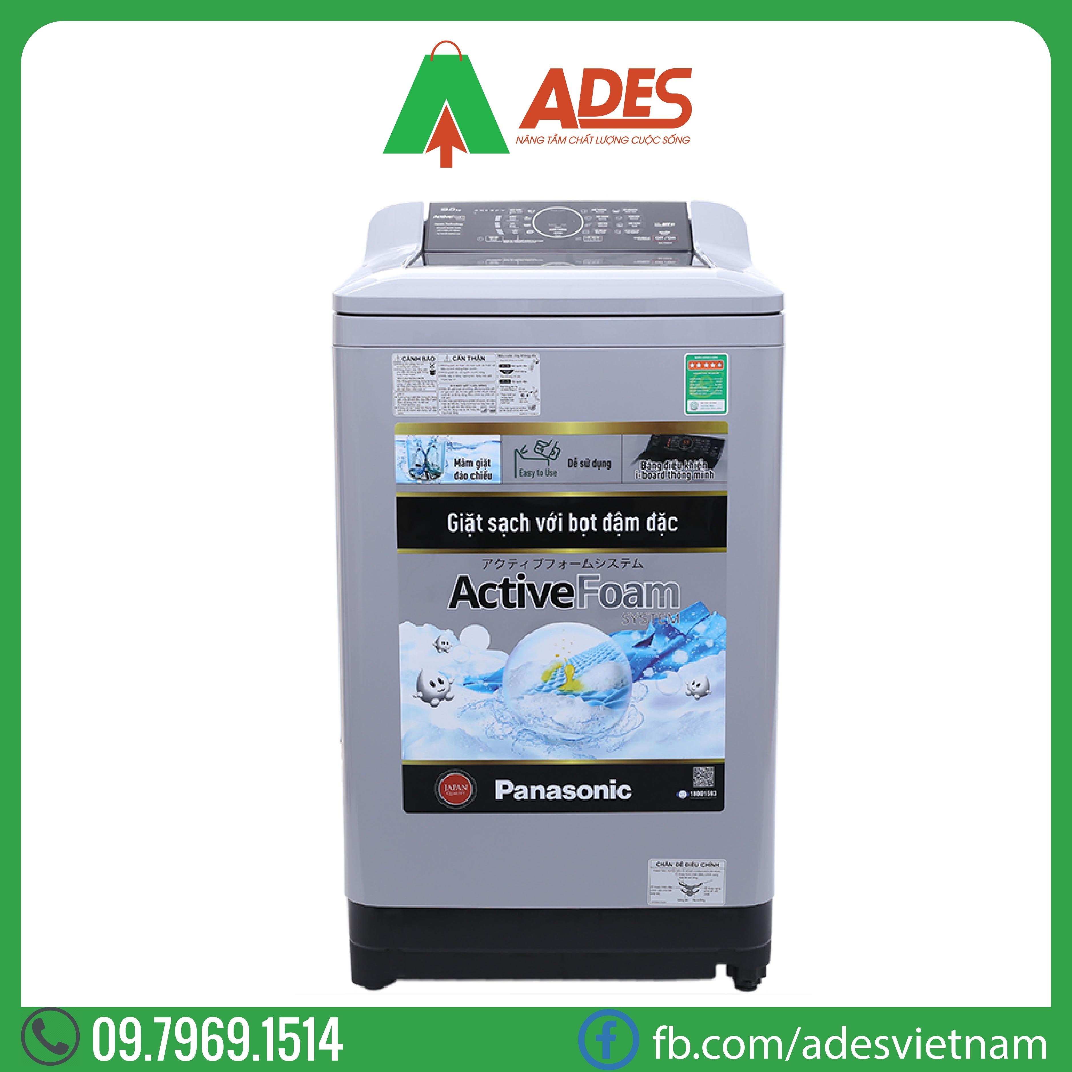 May Giat Panasonic 9 Kg Long dung NA-F90A4GRV