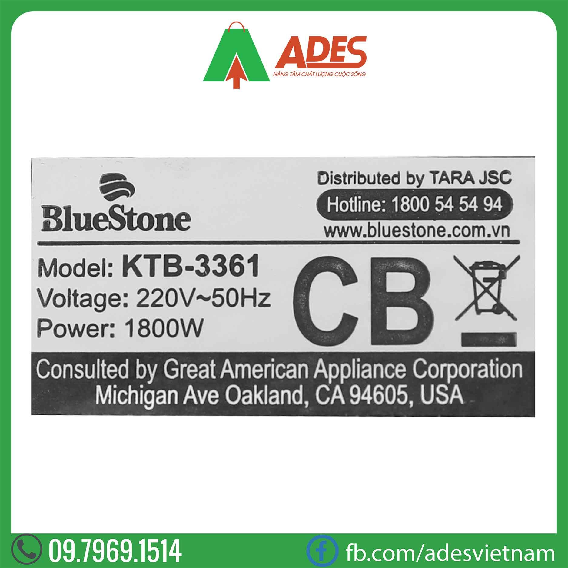 Am sieu toc Bluestone KTB-3361