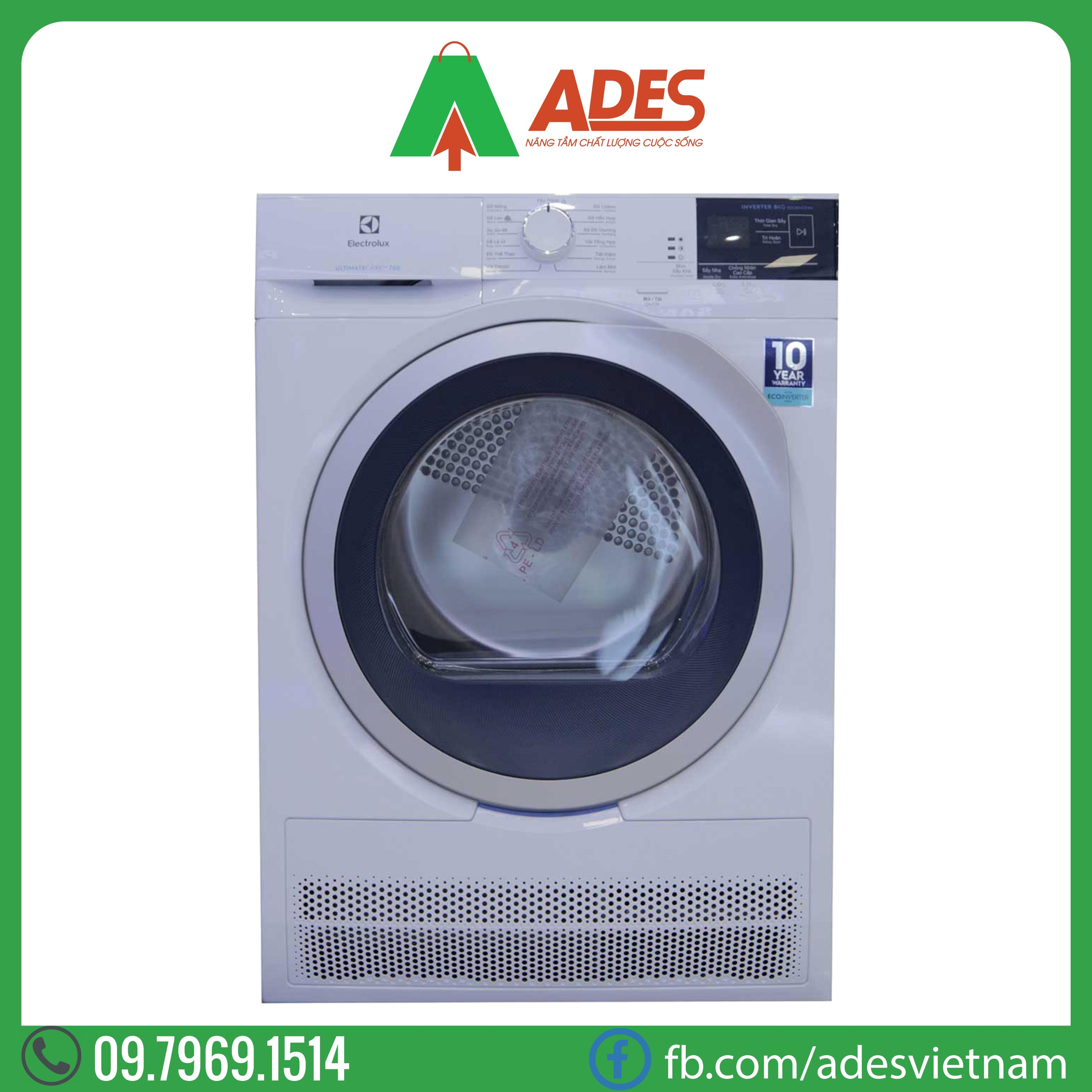may say quan ao Electrolux EDC704GEWA