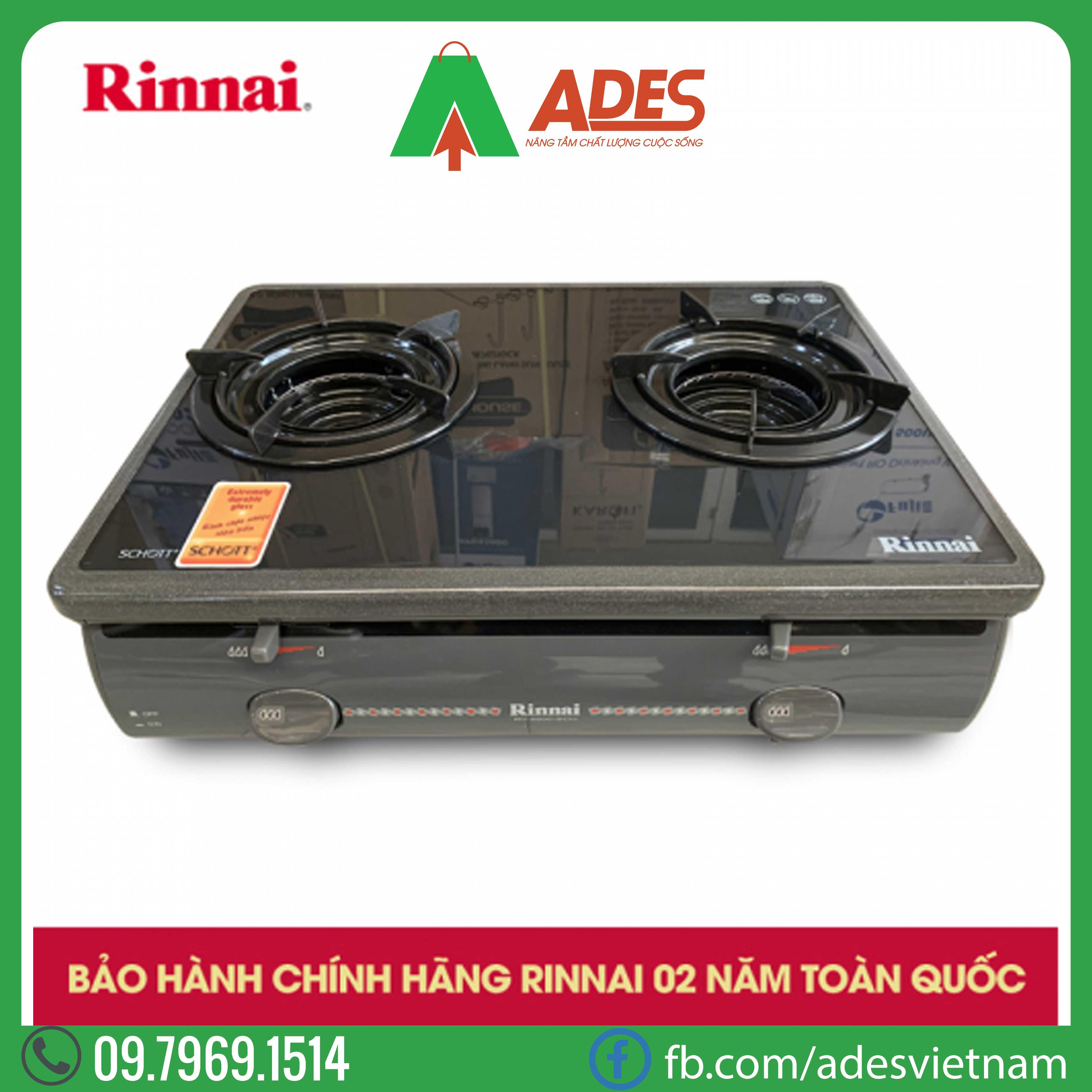 Bep gas duong Rinnai RV-5600-SCH(BK)
