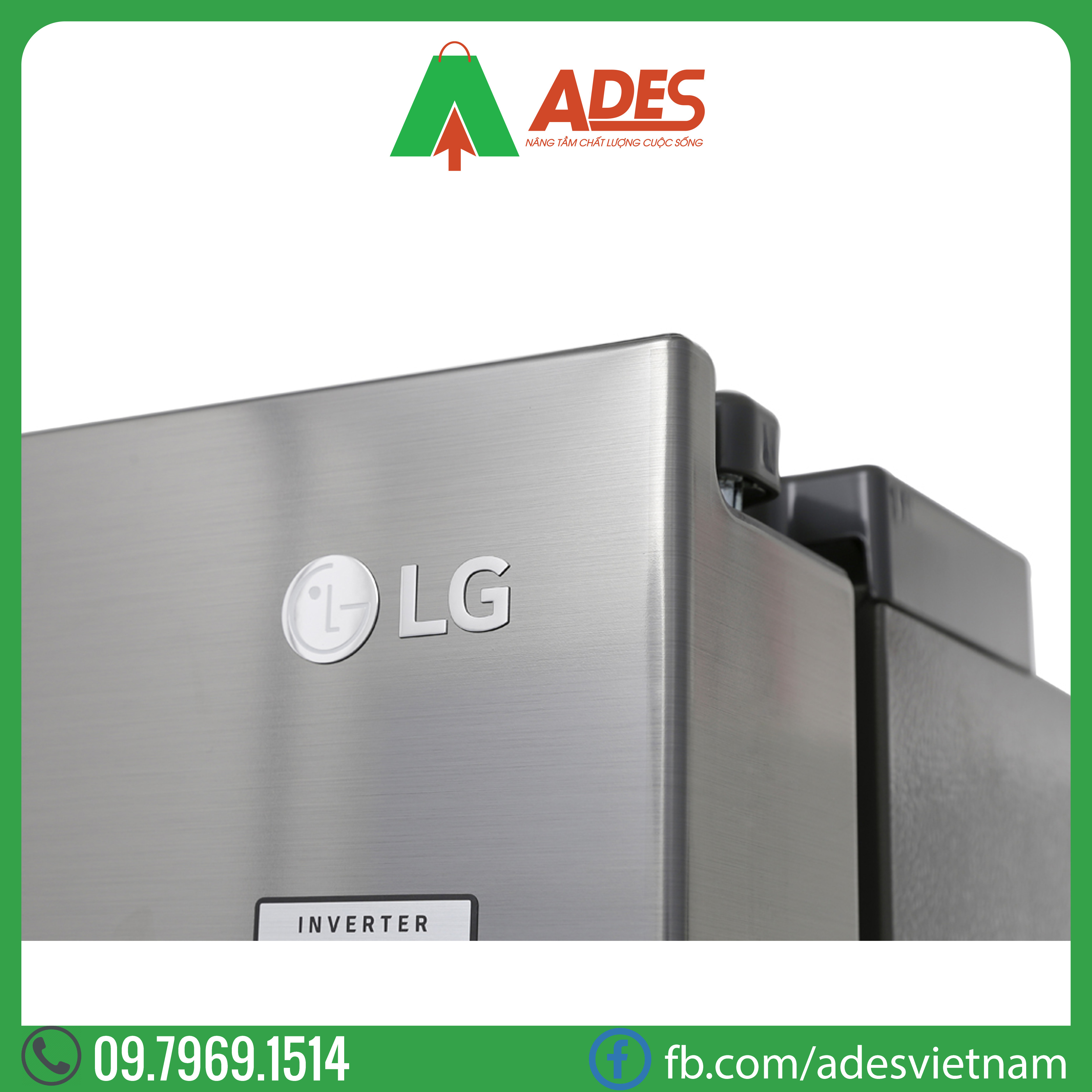 tu lanh LG Inverter 601 lit GR-D247JS