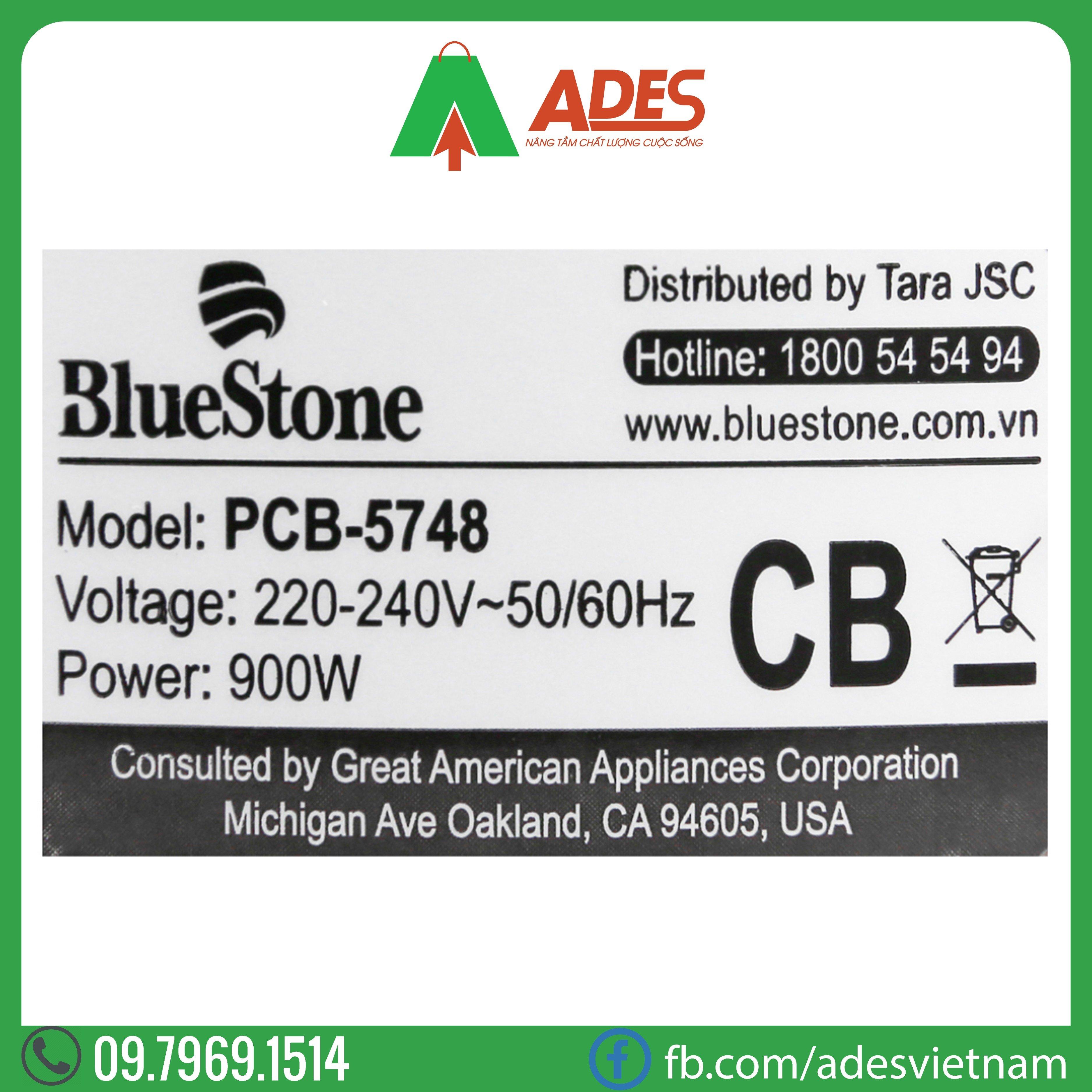 noi ap suat dien 5 lit Bluestone PCB-5748