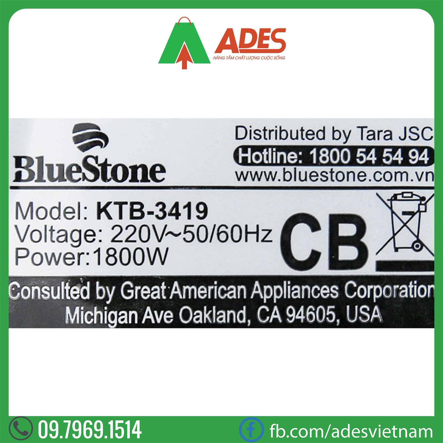 am sieu toc Bluestone KTB-3419