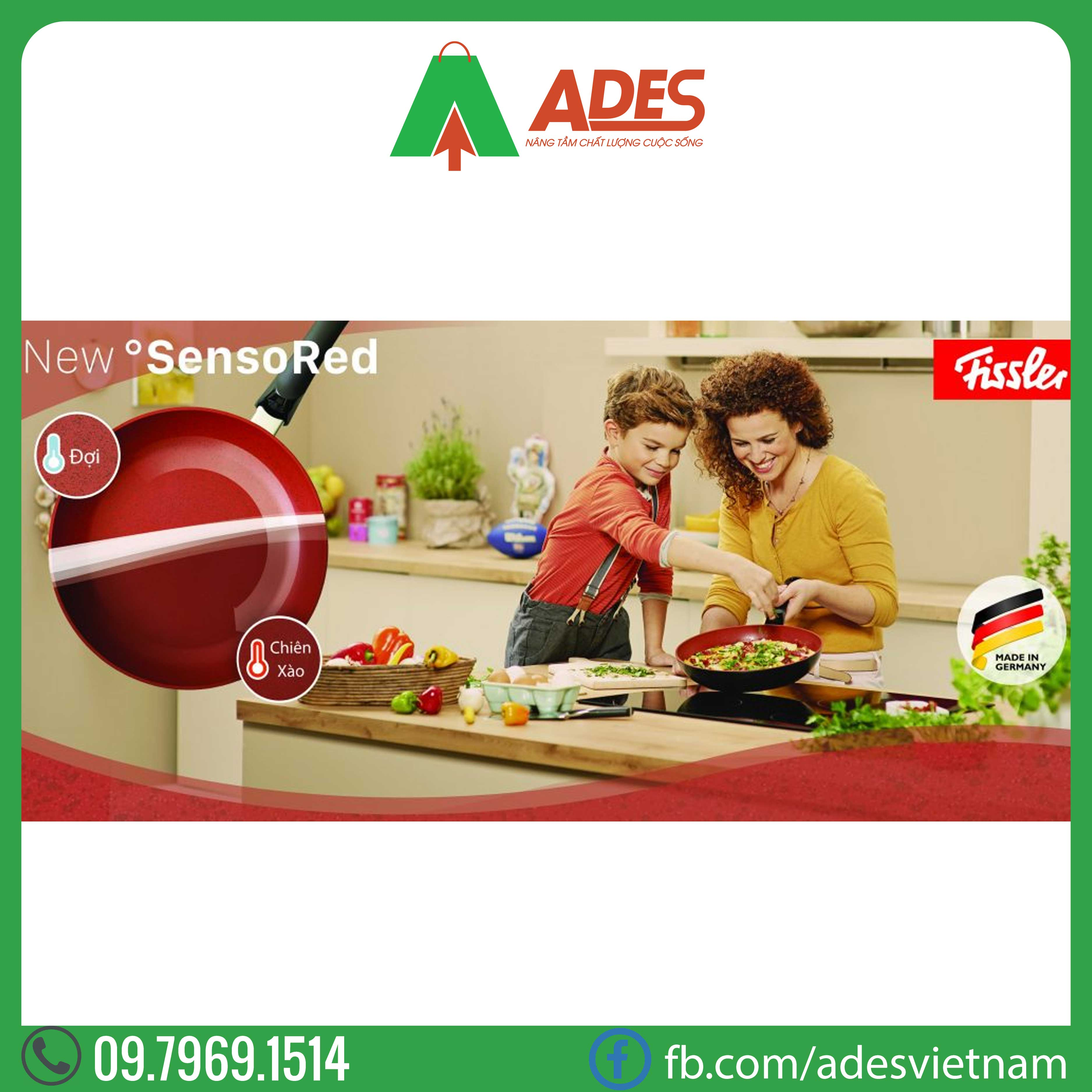 Chao Fissler SensoRed 28cm | Dien may Ades