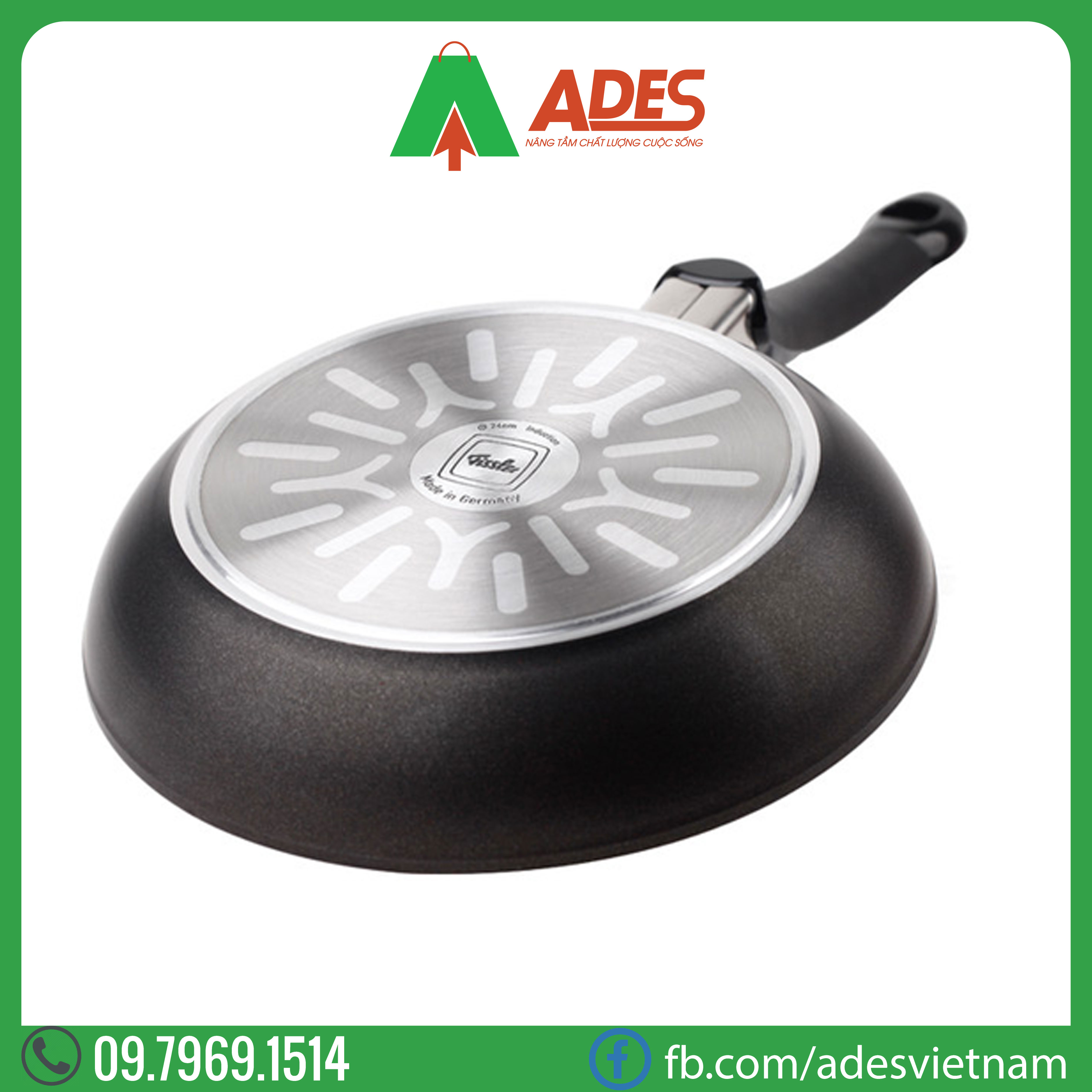 Chao day sau Fissler SensoRed 28cm | Dien may Ades