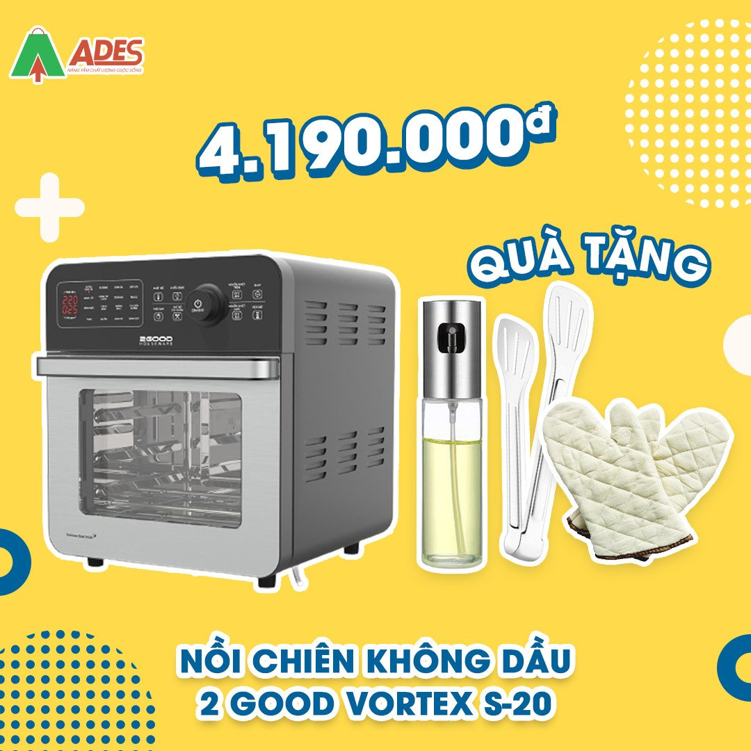 Noi Chien Khong Dau 2Good Vortex S20 gia soc